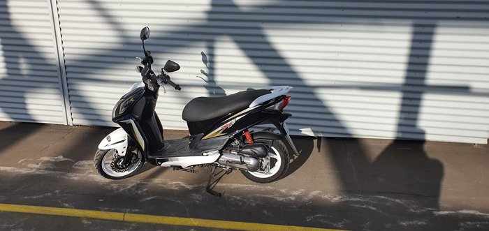 2014 SYM JetSport 50X null Jet Black, White or Orange/White