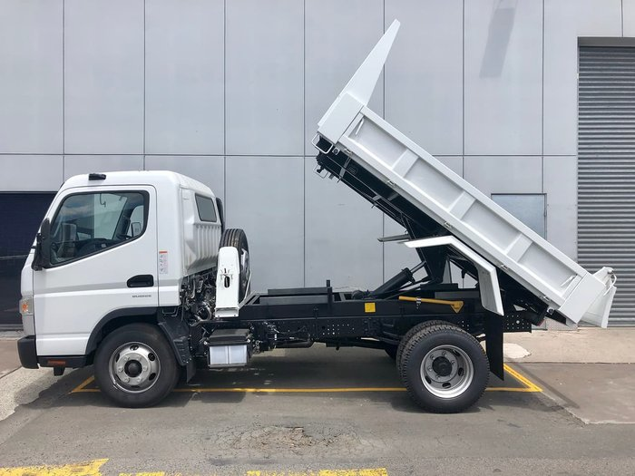 2021 FUSO CANTER 815 FACTORY TIPPER SAFETY PACK AMT White