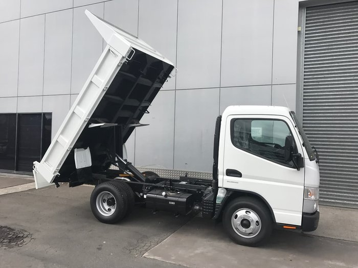 2020 FUSO CANTER 615 TIPPER AMT SAFETY PACK White