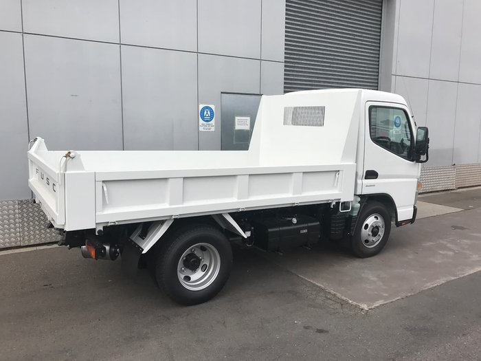 2020 FUSO CANTER 615 TIPPER AMT SAFETY PACK null null White