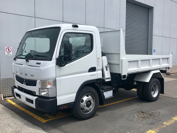 2020 FUSO MITSUBISHI CANTER 815 FACTORY TIPPER MANUAL SAFETY PACK White