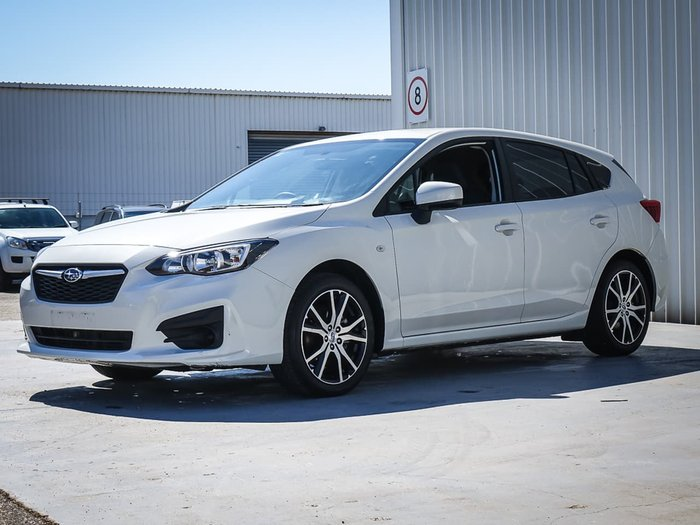 2019 Subaru Impreza 2.0i G5 MY20 Four Wheel Drive White