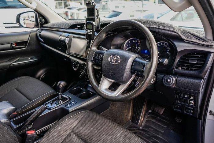 2016 Toyota Hilux SR GUN126R 4X4 Dual Range White