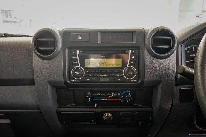 2019 Toyota Landcruiser Workmate VDJ79R 4X4 Dual Range White