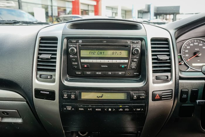 2009 Toyota Landcruiser Prado GXL GRJ150R 4X4 Constant Silver