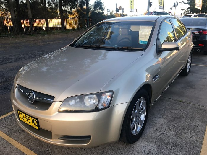 2008 Holden Commodore Omega VE Gold