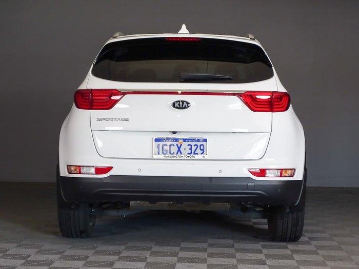 2016 Kia Sportage SLi QL MY16 White