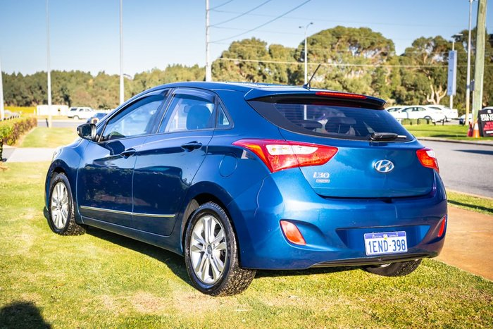 2014 Hyundai i30 Trophy GD2 MY14 Blue