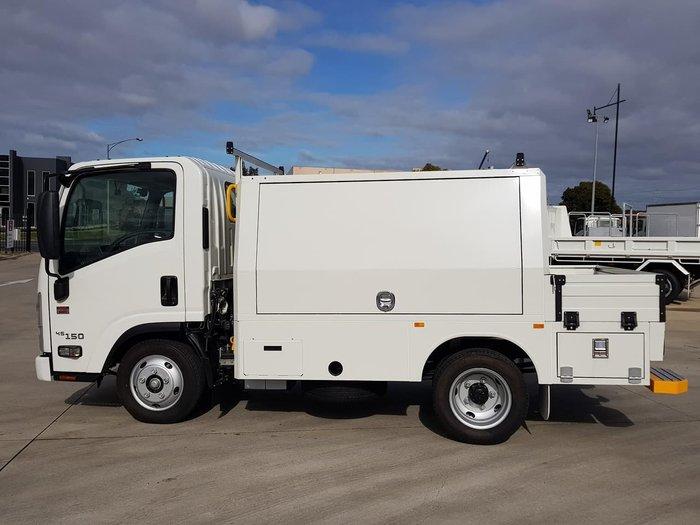 2020 Isuzu NLR 45-150 AMT SERVICEPACK X WHITE