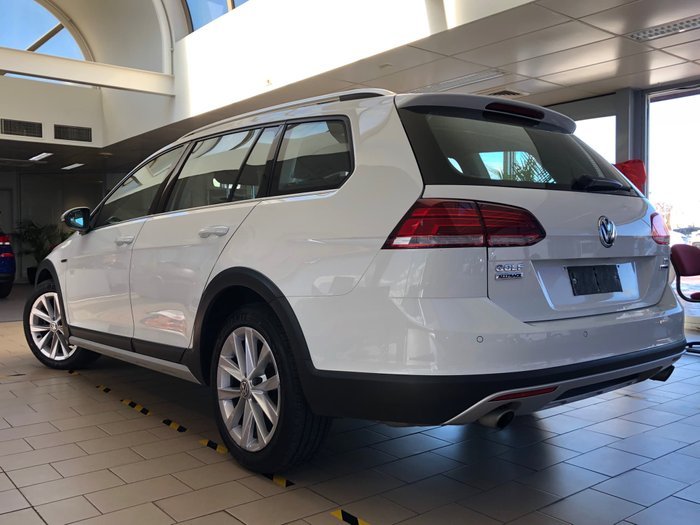 2017 Volkswagen Golf Alltrack 132TSI 7.5 MY17 Four Wheel Drive White