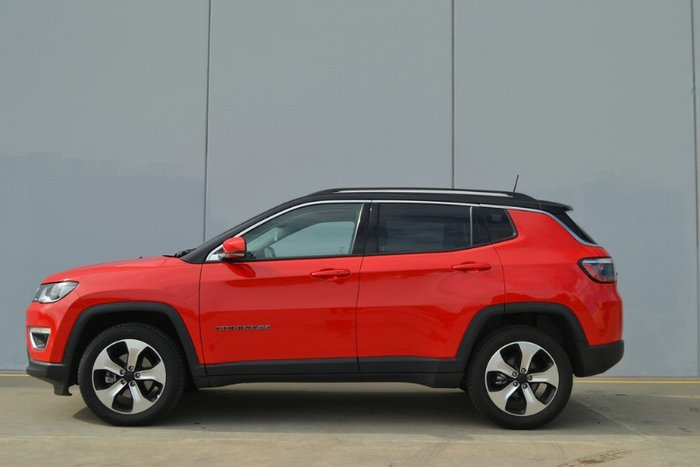 2018 Jeep Compass Limited M6 MY18 4X4 On Demand COLORADO RED