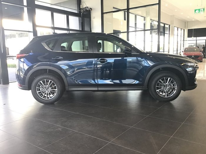 2020 Mazda CX-5 Maxx Sport KF Series 4X4 On Demand Blue