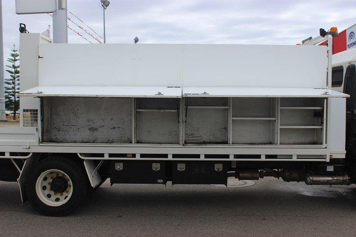 2013 ISUZU FTR 900 WHITE