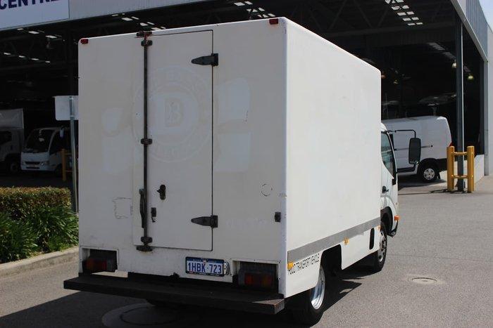 2007 HINO 616 MWB MANUAL WHITE
