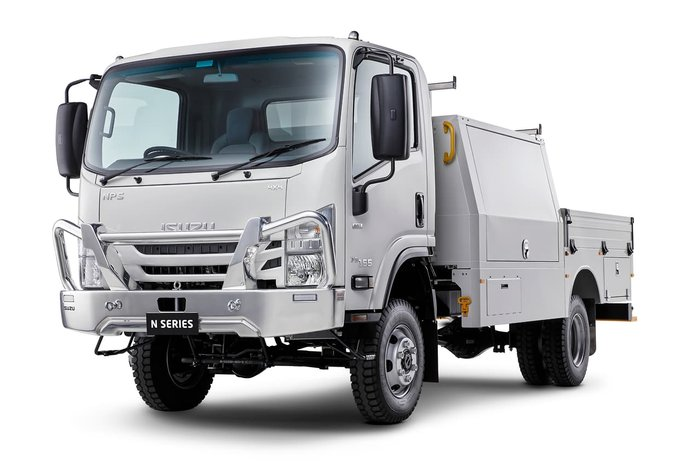 2020 Isuzu NPS 75 -155 White