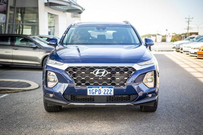 2018 Hyundai Santa Fe Highlander DM5 Series II MY18 4X4 On Demand Blue