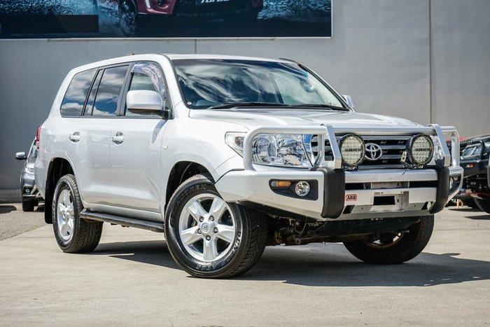 2010 Toyota Landcruiser Sahara VDJ200R MY10 4X4 Constant Silver