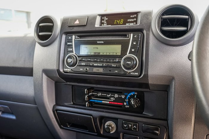 2018 Toyota Landcruiser GXL VDJ79R 4X4 Dual Range Grey