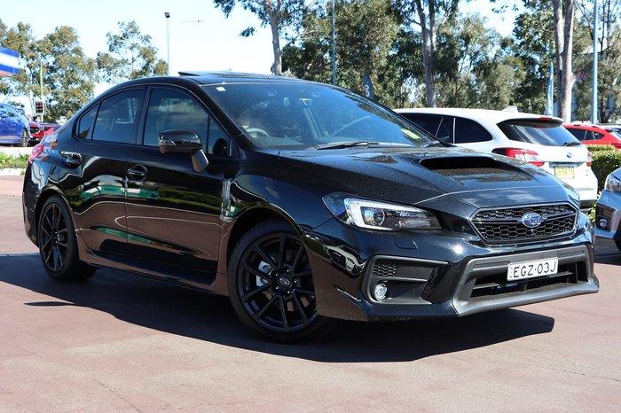 2020 Subaru WRX Premium V1 MY20 Four Wheel Drive Black