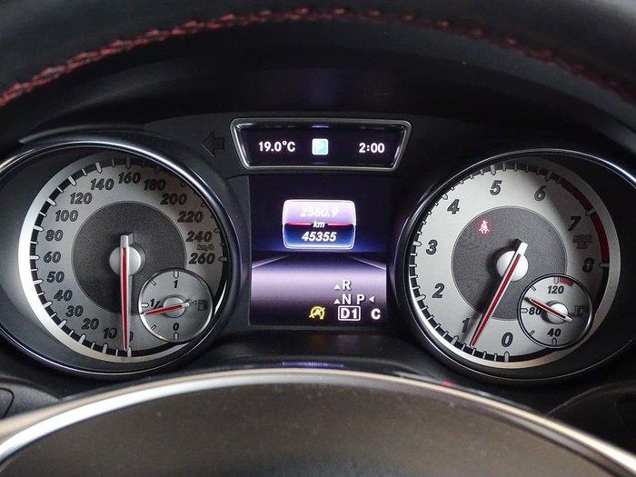 2016 Mercedes-Benz CLA-Class CLA200 C117 Silver