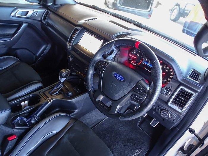 2019 Ford Ranger Raptor PX MkIII MY19 4X4 Dual Range White