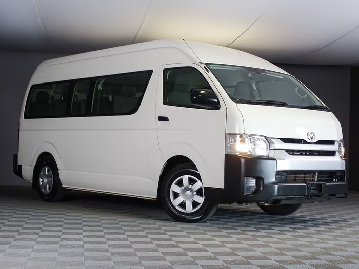 2017 Toyota Hiace Commuter KDH223R White