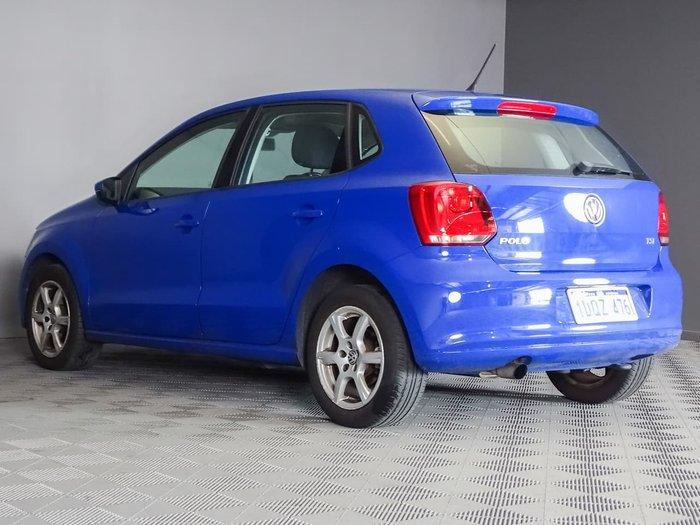 2010 Volkswagen Polo 77TSI Comfortline 6R Blue