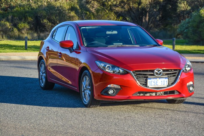 2015 Mazda 3 Maxx BM Series Red