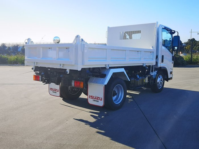 2020 Isuzu NMR 60/45-150 AMT TRI-TIPPER White