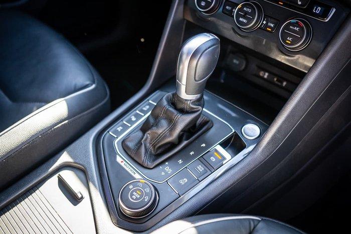 2017 Volkswagen Tiguan 132TSI Comfortline 5N MY18 Four Wheel Drive Black