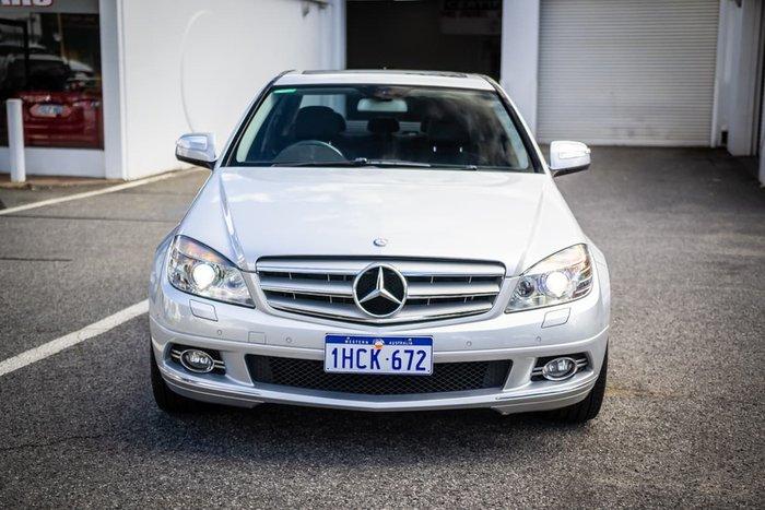 2008 Mercedes-Benz C-Class C280 Avantgarde W204 Silver