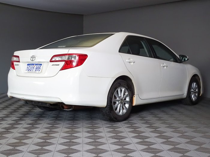 2013 Toyota Camry Altise ASV50R White
