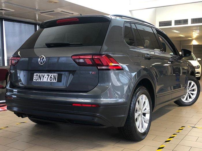 2017 Volkswagen Tiguan 110TSI Trendline 5N MY17 Grey