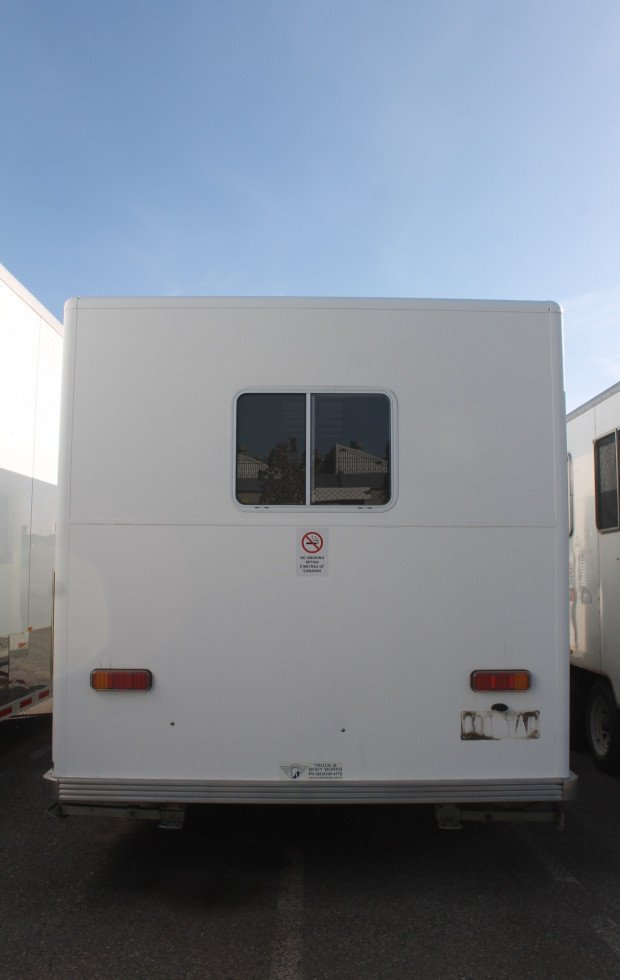 2006 Aldom Site Van EX COUNCIL White