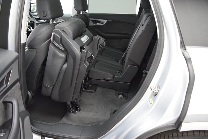 2018 Audi Q7 50 TDI 4M MY19 Four Wheel Drive Silver