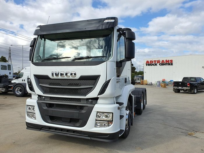 2019 IVECO STRALIS ATI 460 6X4 IN STOCK - MUST GO null null white