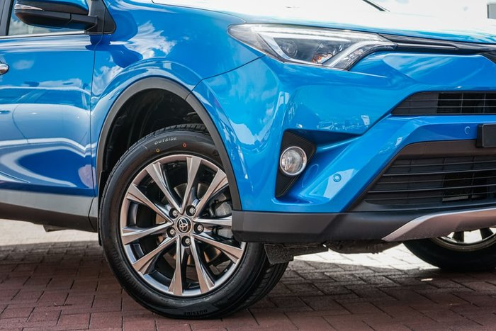 2017 Toyota RAV4 Cruiser ASA44R 4X4 On Demand Blue