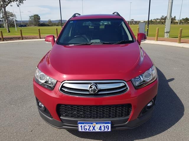 2015 Holden Captiva LT CG MY16 4X4 On Demand Velvet Red