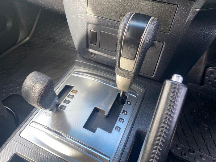 2011 Mitsubishi Pajero GLS NT MY11 4X4 Silver