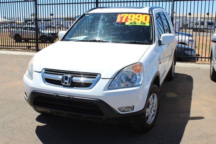 2004 Honda CR-V Sport RD MY04 4X4 On Demand White