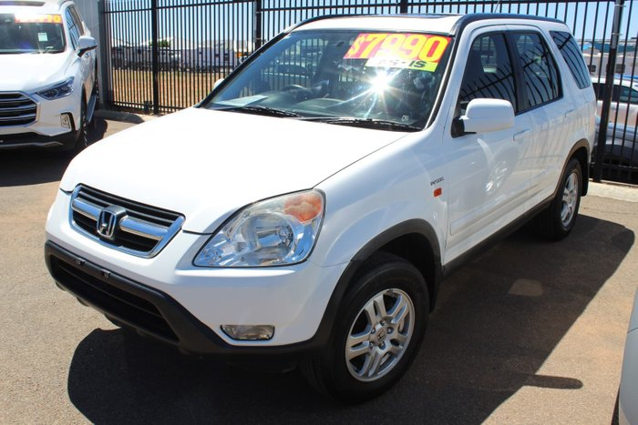 2004 Honda CR-V Sport RD MY04 4X4 On Demand White