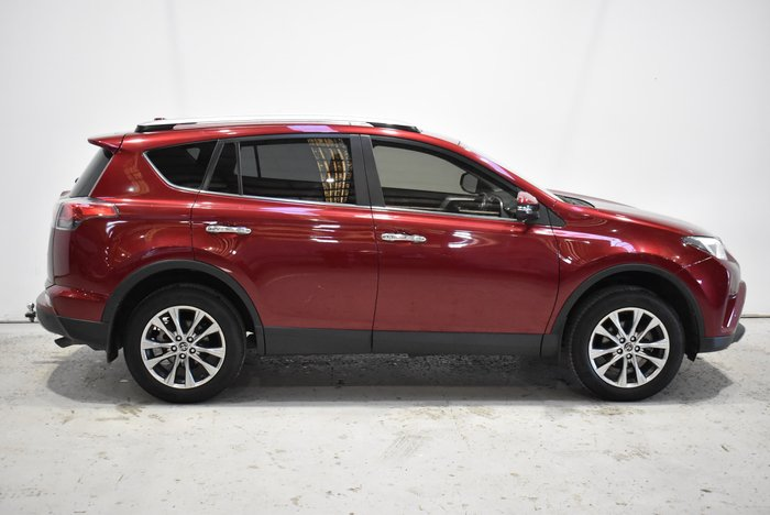 2017 Toyota RAV4 Cruiser ASA44R 4X4 On Demand Red