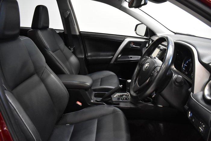 2017 Toyota RAV4 Cruiser ASA44R 4X4 On Demand Red