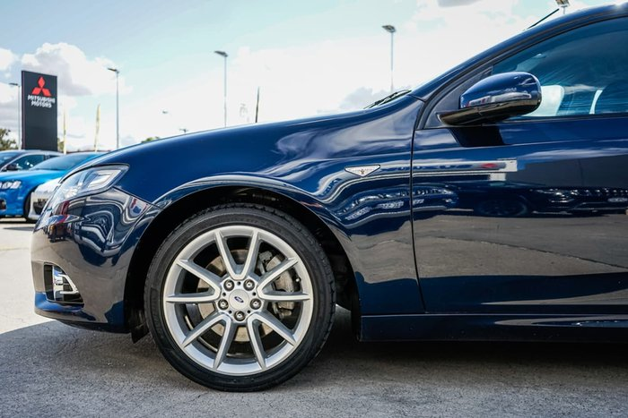 2013 Ford Falcon Ute XR6 Turbo FG MkII Blue