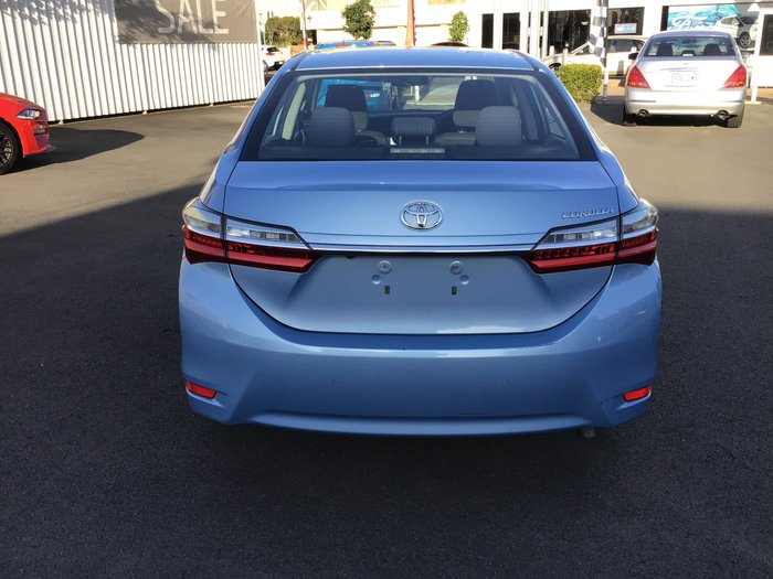 2017 Toyota Corolla Ascent ZRE172R Blue