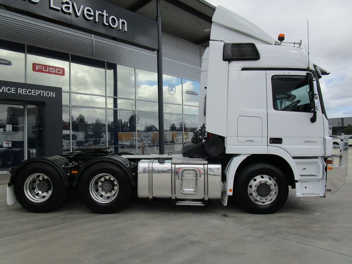 2015 MERCEDES-BENZ ACTROS 2655 null null WHITE
