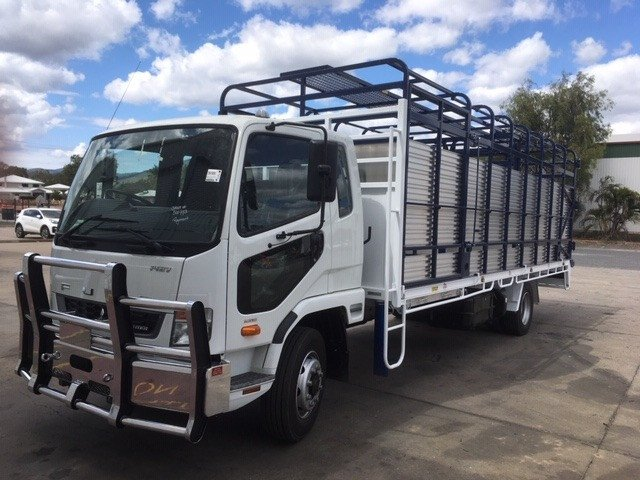 2020 Fuso Fighter 1427 18t Cattle Tray amp Crate White