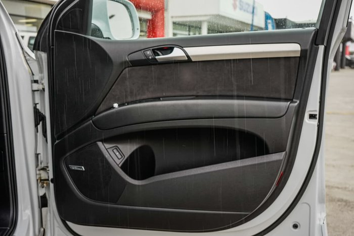 2015 Audi Q7 TDI 4M MY16 Four Wheel Drive White