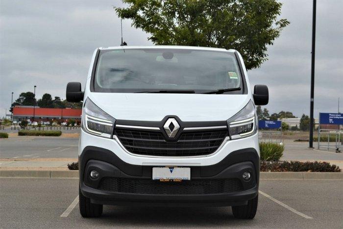 2019 Renault Trafic Premium 125kW X82 WHITE LWB AUTO