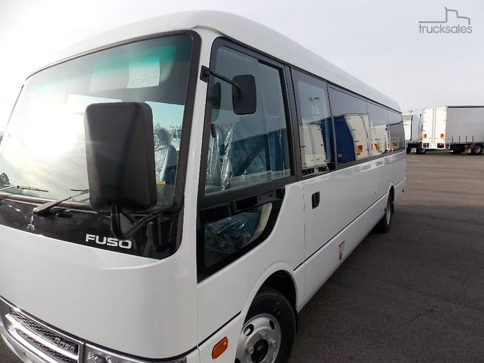 2019 FUSO ROSA BUS DELUXE LWB AUTO null null White